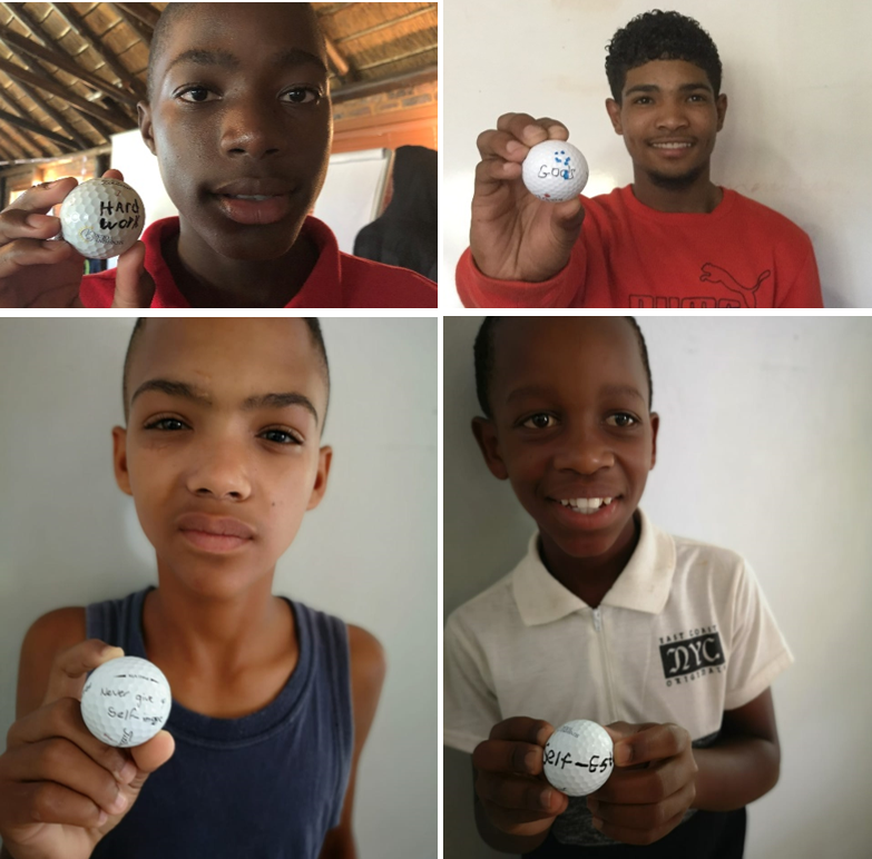 SAGDB's aspiring young golfers commit to reaching their goals