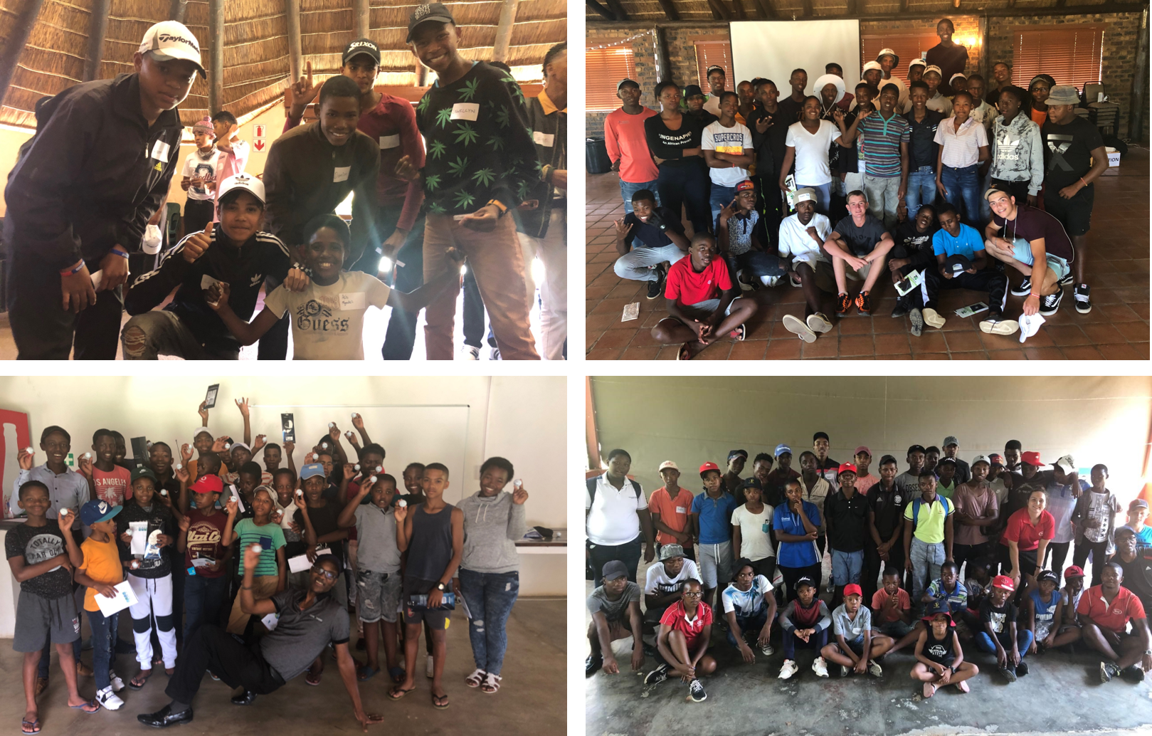 Golf 4 Life, Free To Grow's 2-day personal development programme for youth, travels across the country in partnership with the South African Golf Development Board (SAGDB)
