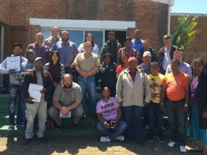 Free To Grow's Soar! blended learning journey presented at MTO Forestry Cape Town.
