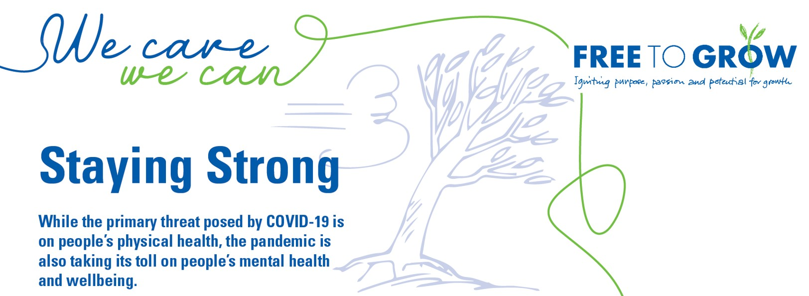 COVID-19, Free To Grow, We Care We Can, building resilience, FTG,