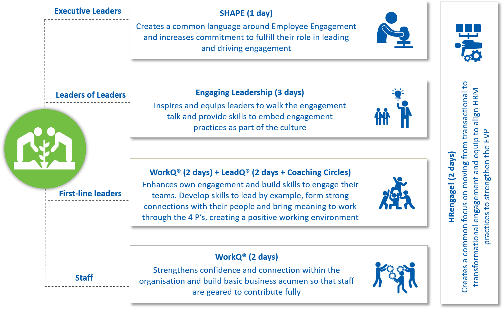 Free To Grow Employee Engagement Programmes